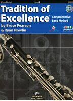 Tradition of Excellence Bb Bass Clarinet Book 2 W62CLB