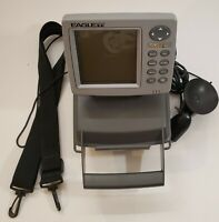 Eagle Fish Mark 320 Fish Finder Complete With Transducer And Waterproof Box Test