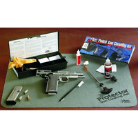 KleenBore PS50 Steel Rod Tactical Gun Cleaning Kit For .38/.357/ 9mm