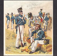 Uniform of Army of United States 1880#x27;s Holabird US 1813 Coats Sewing Trade Card
