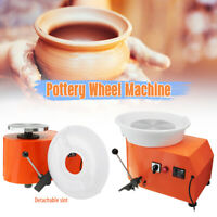 110V 350W Pottery Wheel Detachable Machine Ceramic Work Clay Moveable Pedal