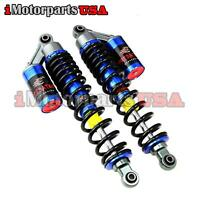 STAGE 4 REBOUND ADJUSTABLE FRONT GAS SHOCKS ABSORBERS FOR YAMAHA GRIZZLY 660 ATV