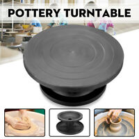 30CM Pottery Banding Wheel Metal Turntable Turnplate Clay Sculpture Modelling
