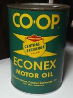 Vintage Co-op Oil Can Quart Can