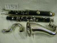 Vito Resotone Bass Clarinet-Reconditioned-Plated keys, neck and bell.*LOOK*