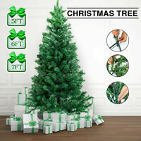 5FT Fake Christmas Tree W/Stand Holiday Season Indoor Outdoor Green PVC Material