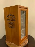 Jack Daniel's Old # 1 Brand Single Barrel Wooden Display Box (Brand New)