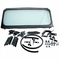 Ryfab Folding Glass Windshield Black GW15