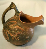 Roseville Bushberry Russet Water Pitcher 1325 Free Shipping
