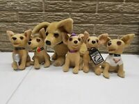 VINTAGE TACO BELL CHIHUAHUA PLUSH DOG TOYS FAST FOOD PREMIUMS ADVERTISING
