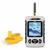 LUCKY Wireless Portable Fish Finder with 120m Wireless Signal Range