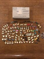 Old Stock Antique Cracker Jack/Gumball Charms With Box/Full List/See Pics/ Rare