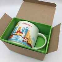 Starbucks Shanghai Mug Cup You are here YAH City China new in box w/SKU *RARE