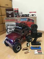 Tamiya CR 01 Bronco 1973 full set neon light luggage net