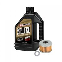 Tusk 4-Stroke Oil Change Kit Maxima Synthetic Blend 10W-40 1529860196