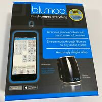 BLUMOO Home Theater Universal RF Remote Control w Bluetooth Music Streaming NEW $34.94