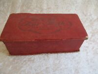 Rare Gibsons Nut Milk Chocolates of Providence Empty Candy Box