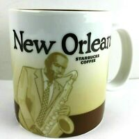 Starbucks New Orleans Mug Global Icon City Series Coffee Cup 001253385 Jazz