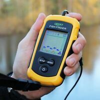 Original Portable Alarm 100 M Echo Sounder Fishing Finder Lake Sea Fishing