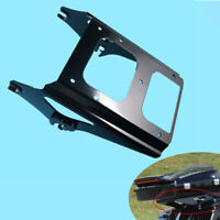 Two Up Tour Pack Mount Luggage Rack Black For Harley Touring 2009 2013