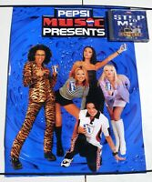 Original A2 Spice Girls Pepsi Poster Plus Promo Only quot;Step to Mequot; CDs. 1997.
