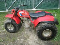 VINTAGE 80S HONDA 200 ATC ALL TERRAN CYCLE NEW TIRES NR