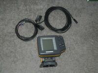 Humminbird Wide One Hundred Fish Finder w/ Power Cord & Transducer - Fishing