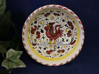 Deruta Italy Italian Pottery Orvieto Olive Oil Dipping Bowl Dish