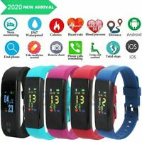 Fitness Smart Watch Activity Tracker Heart Rate For Women Men Fitbit iOS Android $14.99