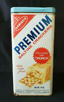 VINTAGE - 1969 NABISCO PREMIUM SALTINE CRACKER TIN