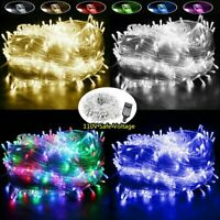 Fairy String Lights 20-1000 LED Xmas Lamp for Christmas Tree Wedding Party Decor