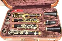 Selmer Bb/A Clarinets Modele 55 /Centered Tone in Buffet Double Case