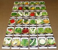 36 VINTAGE SEED PACKET LOT NOS C1920 GARDEN LITHOGRAPH GENERAL STORE PACK 17C