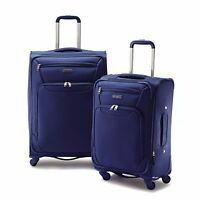 Samsonite 2 Piece Expandable Spinner Luggage Set (Royal Blue)