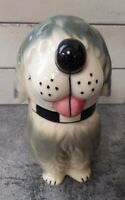 VINTAGE DAN THE DOG CERAMIC Cookie TREAT JAR Alpo Livasnaps USA McCoy Pottery