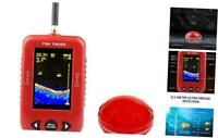 RCANK Fish Finder Portable Wireless Fishfinder with 2.8 inch TFT Color LCD Scre