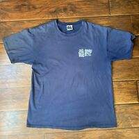 Vintage Blue Old Guys Rule T Shirt Size XL