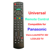 Universal Remote Control Compatible for all Panasonic Viera Link 3D LCD LED TV $8.99