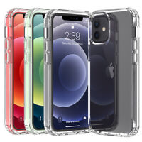 For Apple iPhone 13 Pro Max 11 12 Mini Shockproof Clear Crystal Case Phone Cover $2.96