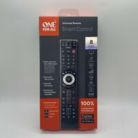One For All URC7880 Smart Control 8 Device Universal Remote Black New $25.99