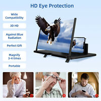 Universal Smart Phone Foldable Enlarge Screen 4X Magnifier Amplifier 3D HD Stand $7.95