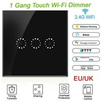 US WiFi Smart Touch Dimmer Switch APP Light Control For Alexa Google Nes $17.99