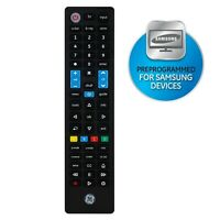 4 Device Universal Samsung Replacement Remote Control Black 44235 $24.99