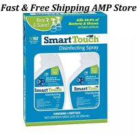 Smart Touch Disinfectant Spray 22 oz. 2 pk. Fast Free Shipping $14.14