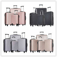 4 Piece Luggage Set Carry on Luggage with Spinner Wheels Travel Luggage set