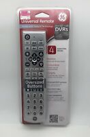 GE Universal Remote 24965 TV DVD Blu Ray Cable DVR Oversized Buttons $4.99