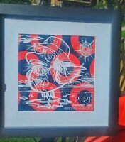 """PHISH Atlantic City 2021 Summer Tour Print """"WookGull"""" 9""""x9"""" LIMITED Numbered."""