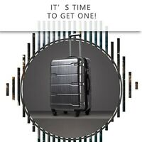 Coolife Luggage 20quot; Suitcase PCABS Spinner Built In TSA lock 2