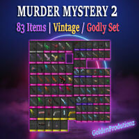 Murder Mystery 2 MM2 SMALL SET All Godly Ancient Vintage Weapons
