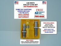 LEE 90974 * LEE PRECISION COLLET 2-DIE SET * 260 REMINGTON * 90974